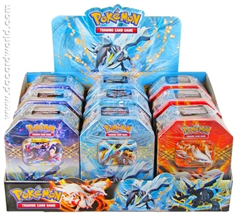 2012 Pokemon Spring EX Collector's 9-Tin Display Case