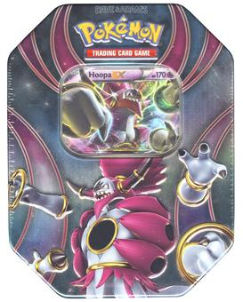 Pokemon Powers Beyond Collector's Tin - Hoopa-EX
