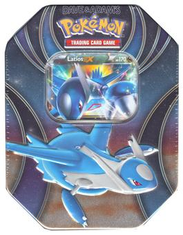 Pokemon Powers Beyond Collector's Tin - Latios-EX