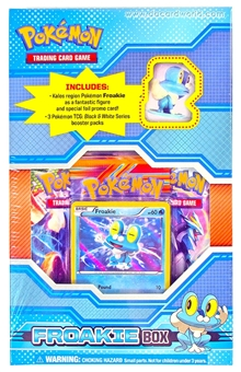 Pokemon Black & White Figure Box - Froakie