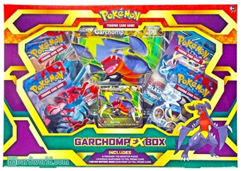 Pokemon Garchomp-EX Box