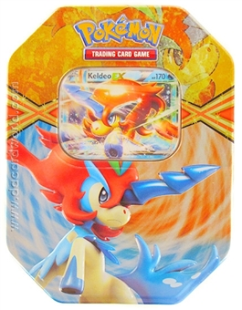 2013 Pokemon Legendary Spring EX Collector's Tin - Keldeo