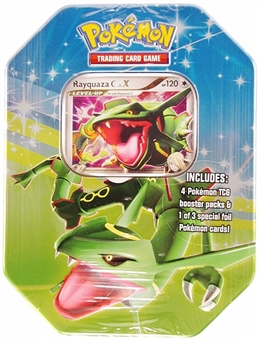 2009 Pokemon Fall Rayquaza Tin
