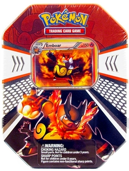 2011 Pokemon Evolved Battle Action Fall Tin - Emboar (EN - INT)
