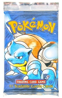 WOTC Pokemon Base Set 1 Booster Pack - 1st Edition