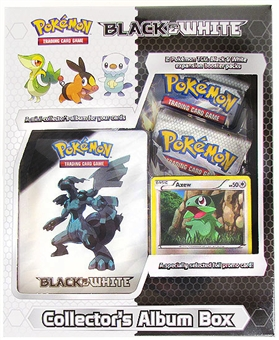 Pokemon Black & White Collector's Album Box