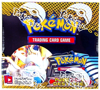 Pokemon Black & White 4: Next Destinies Booster Box (missing shrinkwrap)