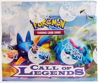 Pokemon Call of Legends Theme Deck Box