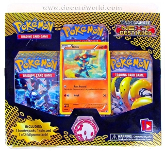 Pokemon Black & White 4: Next Destinies 3-Pack Blister