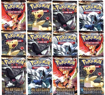 Pokemon HeartGold & SoulSilver Booster Pack (Lot of 12)