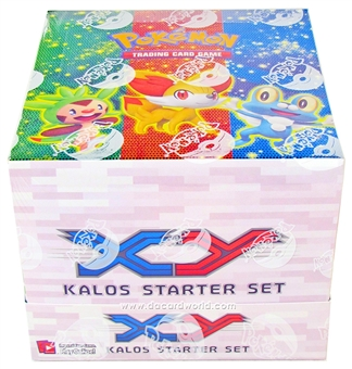 Pokemon XY Kalos Starter Deck Box