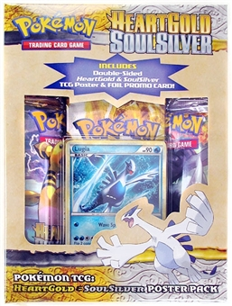 Pokemon HeartGold & SoulSilver Lugia Poster Pack Box