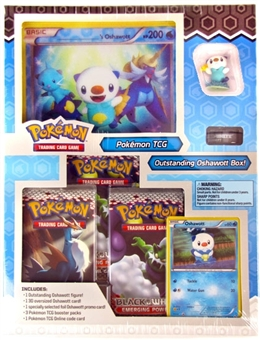 Pokemon Black & White Starter Figure Box - Outstanding Oshawott