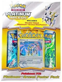 Pokemon Platinum Arceus Poster Pack Box