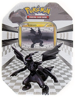 Pokemon Black & White New Legends Tin - Zekrom