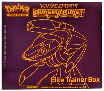 Pokemon Black & White 10: Plasma Blast Elite Trainer Box