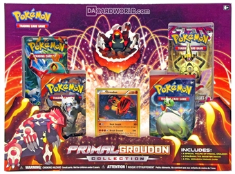 Pokemon Primal Groudon Collection Box
