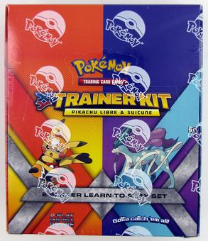 Pokemon XY Pikachu Libre & Suicune Trainer Kit Starter Set Box (8 Sets)
