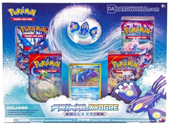 Pokemon Primal Kyogre Collection Box