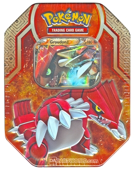 2015 Pokemon Legends of Hoenn Collector's Tin - Groudon-EX