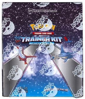 Pokemon XY Trainer Kit Two Player Starter Set Box (8 Sets) (Latias & Latios)
