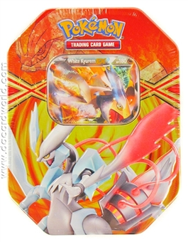 2013 Pokemon Legendary Spring EX Collector's Tin - White Kyurem