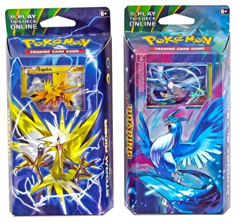 Pokemon XY Roaring Skies Theme Deck - Set of 2 (Aurora Blast, Storm Rider)