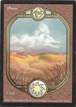 Magic the Gathering Unglued Single Plains UNPLAYED (NM/MT)