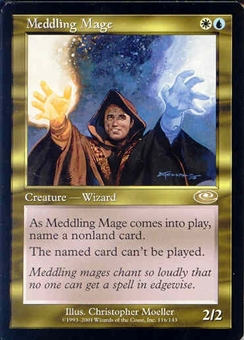 Magic the Gathering Planeshift Single Meddling Mage - NEAR MINT (NM)