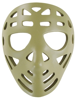 2002/03 Upper Deck Mask Collection Jacques Plante Pretzel Mini Mask