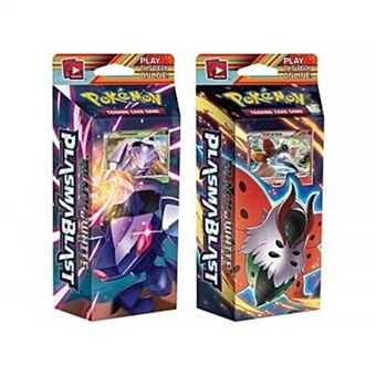 Pokemon Black & White 10: Plasma Blast Theme Deck - Set of 2