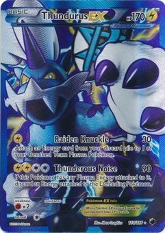 Pokemon Plasma Freeze Single Thundurus EX 110/116