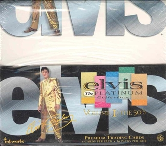 Elvis The Platinum Collection Volume1: The 50's Box (Inkworks - 2006)