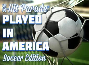 2016 Hit Parade Played in America Soccer Box - 10 HITS PER BOX!!!