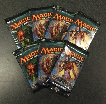 Magic the Gathering Planar Chaos RUSSIAN Booster Pack (Lot of 7)