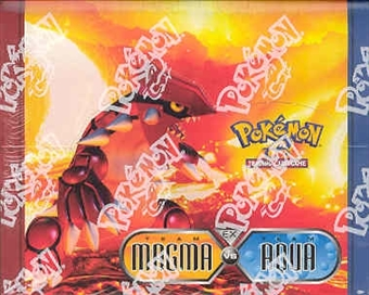 Pokemon EX Team Magma vs Team Aqua Theme Deck Box