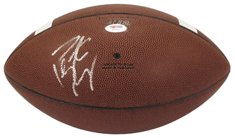 Peyton Manning Autographed Tennessee Volunteers Official Nike Football (PSA)