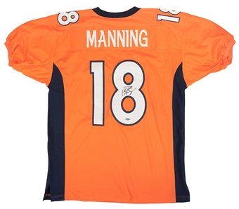 Peyton Manning Autographed Denver Broncos Authentic Nike Jersey (Steiner)