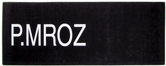 Pawel Mroz NBA Draft Board Basketball Nameplate (One of a Kind!)