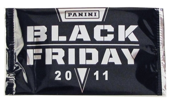 2011 Panini Black Friday Promotion Pack