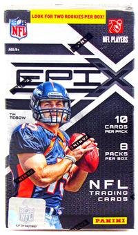 2010 Panini Epix Football 8-Pack Blaster 3-Box Lot