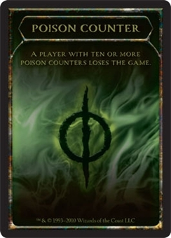 Magic the Gathering Scars of Mirrodin Single 10x Poison Counter UNPLAYED (NM/MT)