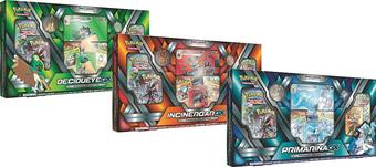 Pokemon Decidueye/Incineroar/Primarina GX Premium Collection 3-Box Set