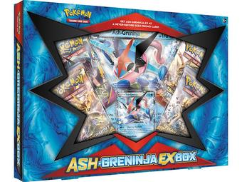 Pokemon Ash-Greninja-EX Box
