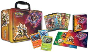 2017 Pokemon Collector Chest Tin Case (9 Ct.)