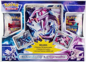 Pokemon Clash of Legends Dialga & Palkia Box