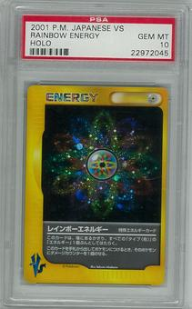 Pokemon JAPANESE VS PSA 10 Rainbow Energy - **22972045**