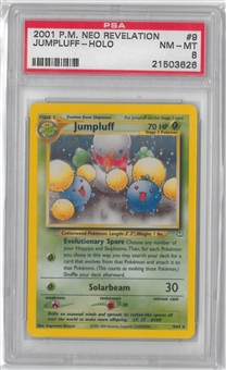 Pokemon Neo Revelation Single Jumpluff 9/64 - PSA 8 *21503626*