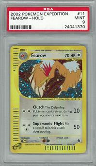 Pokemon Expedition PSA 9 Fearow 11 - **24041370**