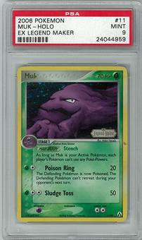 Pokemon Ex Legend Maker PSA 9 Muk 11 - **24044959**